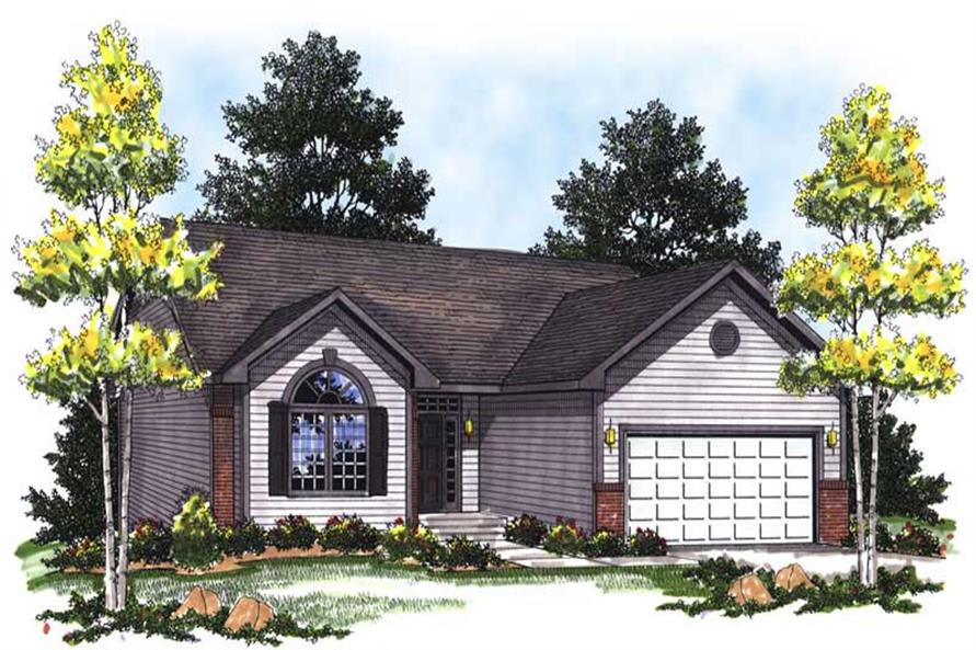 Main image for house plan # 13308
