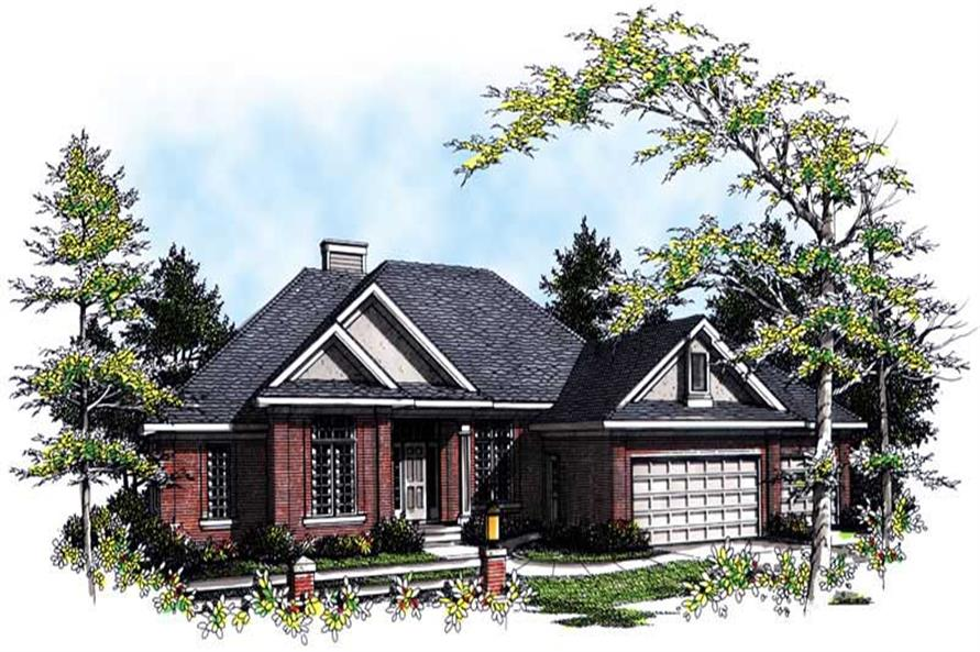 Main image for house plan # 13394