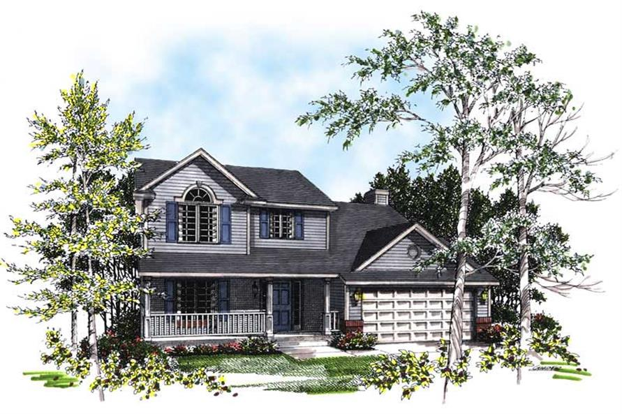 Main image for house plan # 13332