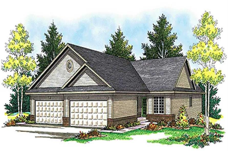 Main image for house plan # 17189