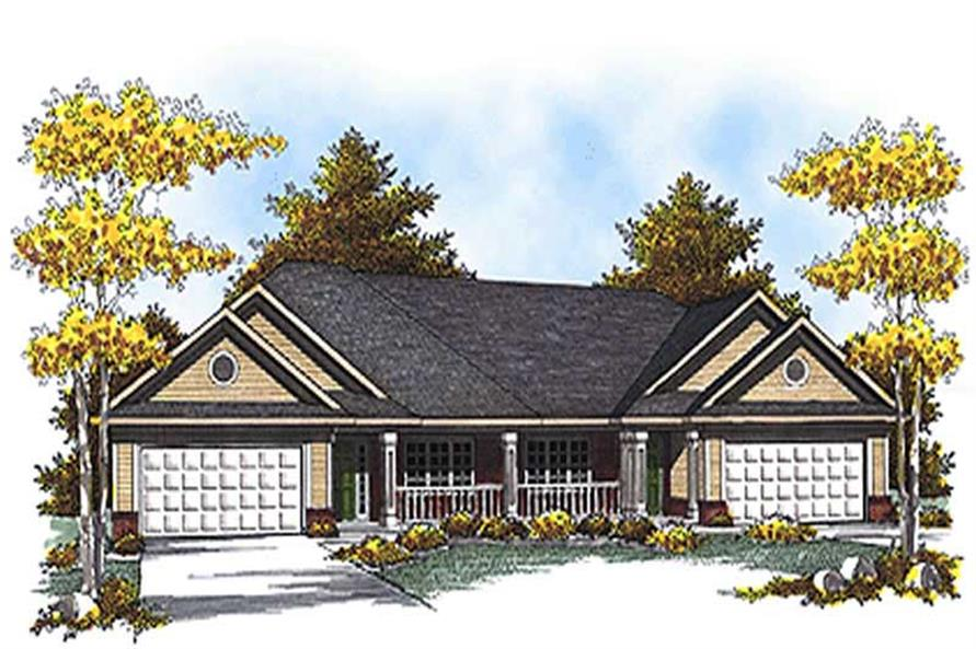 Main image for house plan # 17165