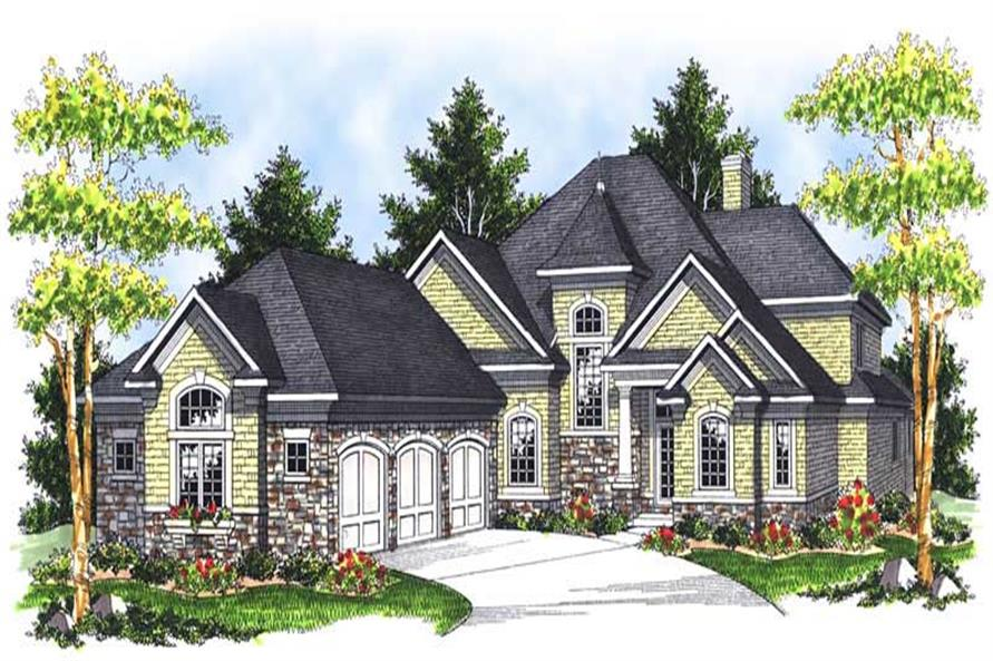 Main image for house plan # 13967