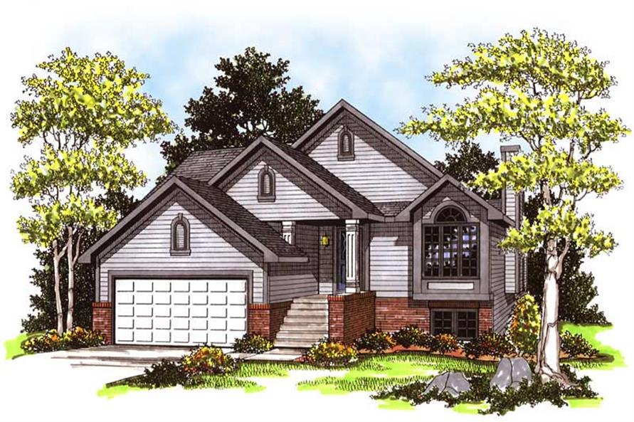 Main image for house plan # 13302