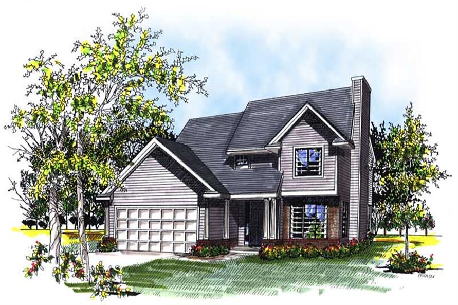 Main image for house plan # 13301