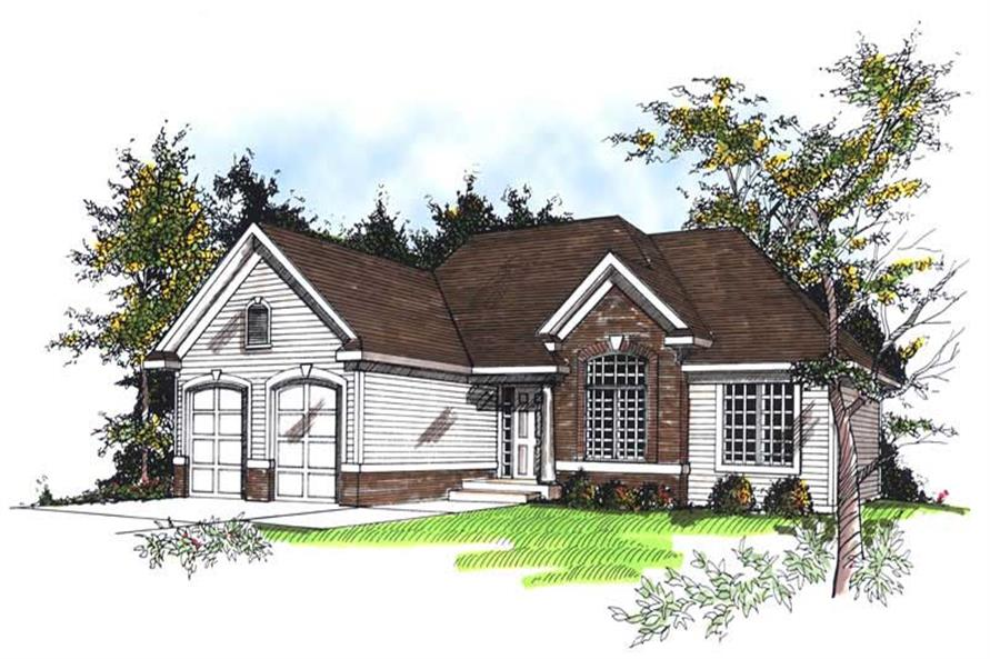 Main image for house plan # 13360