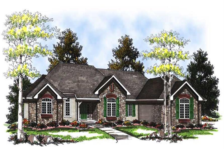 Main image for house plan # 13390