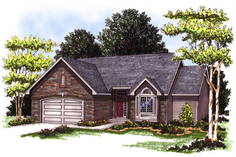 Main image for house plan # 13300