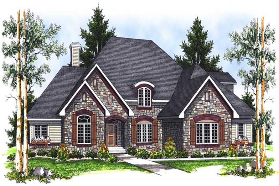 Main image for house plan # 13966