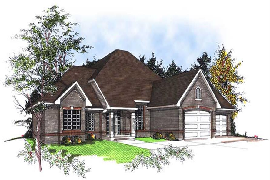 Main image for house plan # 13359