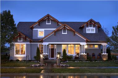 4-Bedroom, 4083 Sq Ft Craftsman House Plan - 101-1874 - Front Exterior
