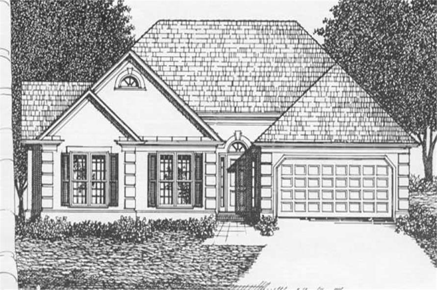 Main image for house plan # 2144