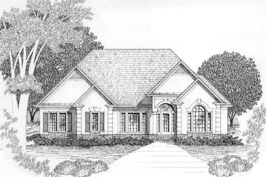 Main image for house plan # 2153