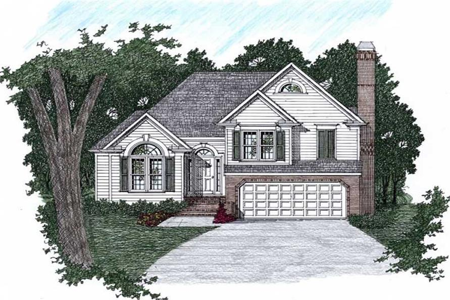 Main image for house plan # 2156