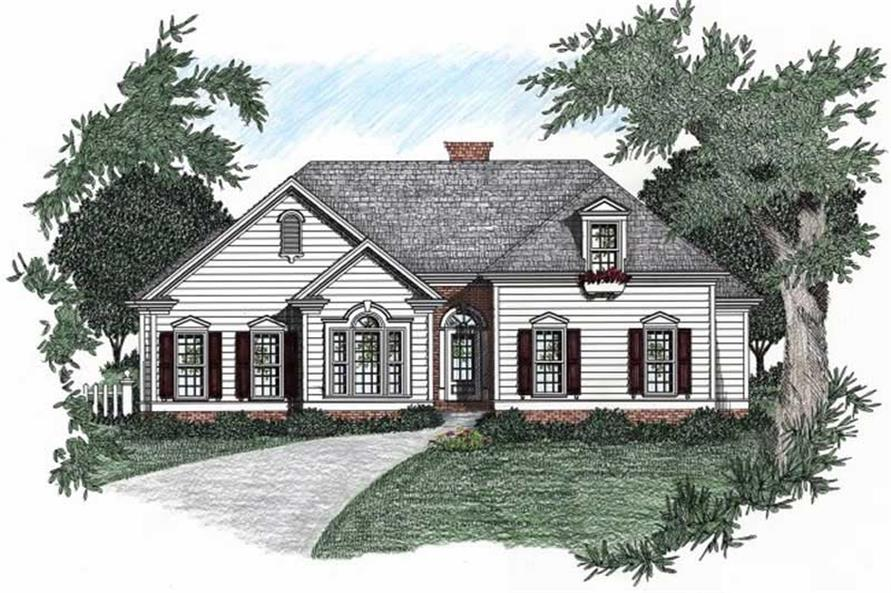 Main image for house plan # 2189