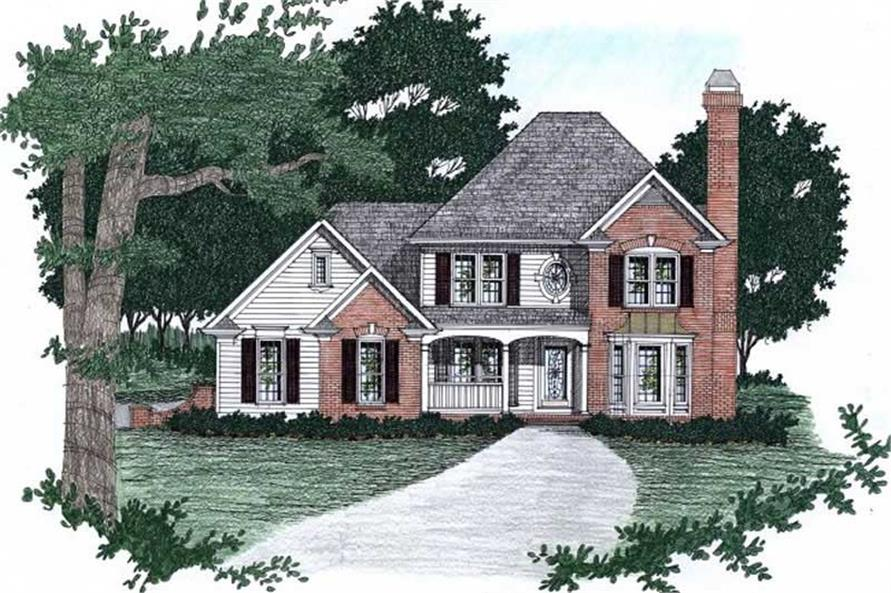 Main image for house plan # 2158