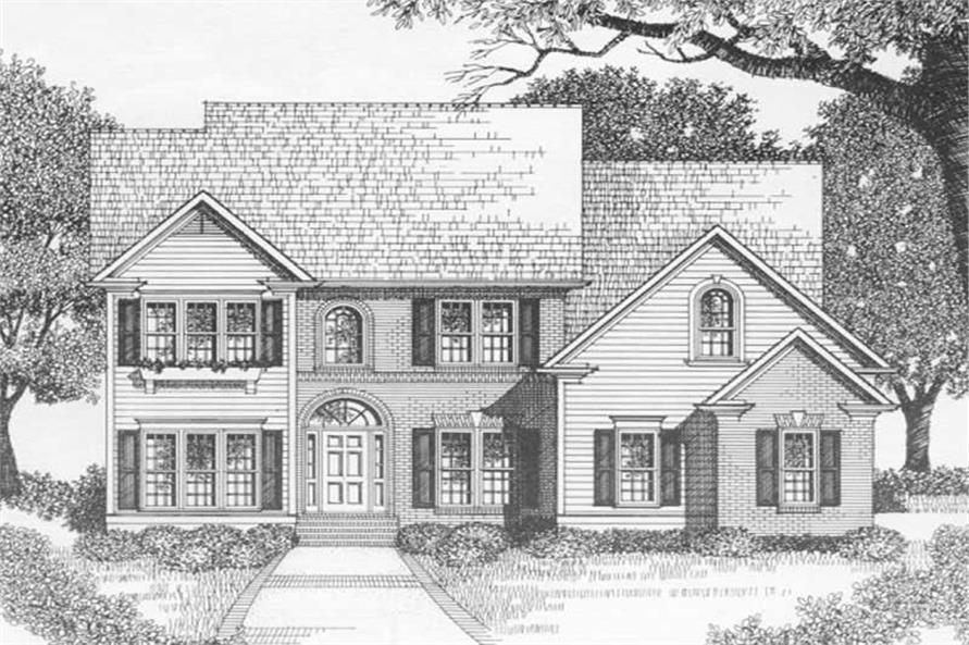 Main image for house plan # 2169