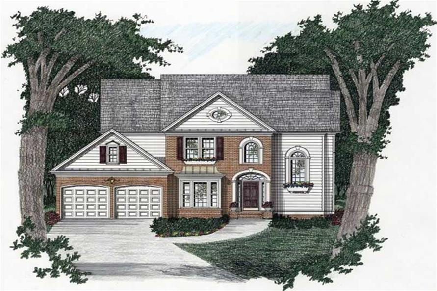 Main image for house plan # 2206