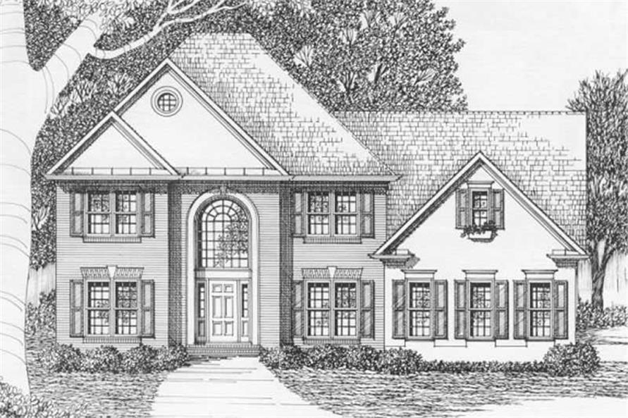 Main image for house plan # 2165