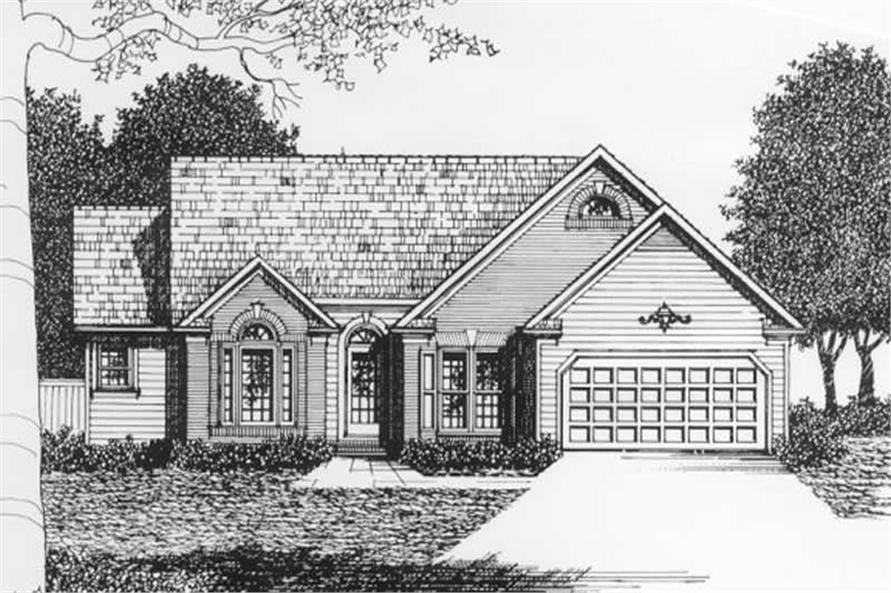Main image for house plan # 2146