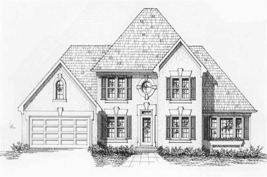 Main image for house plan # 2193