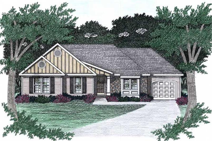 Main image for house plan # 2200