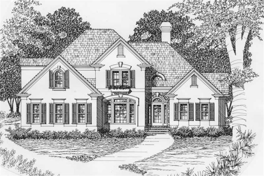 Main image for house plan # 2203