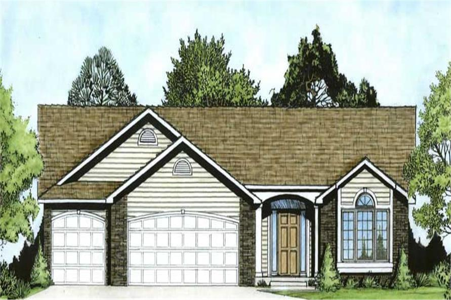 Main image for house plan # 16586