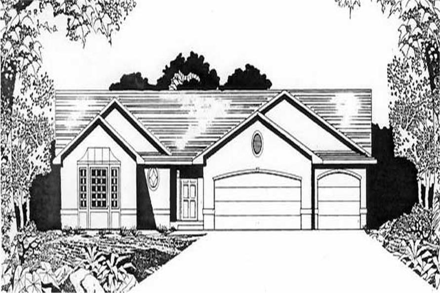 Main image for house plan # 16597