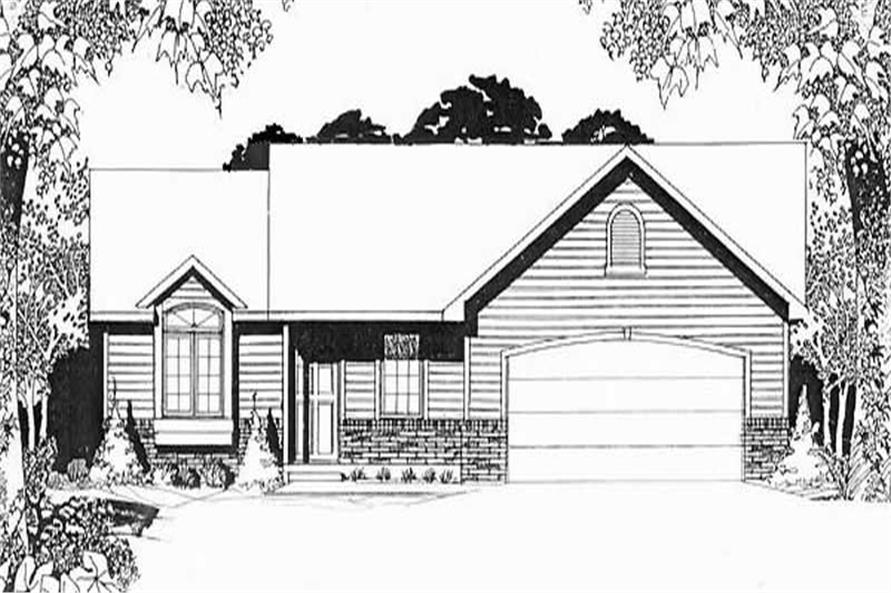 Main image for house plan # 16518
