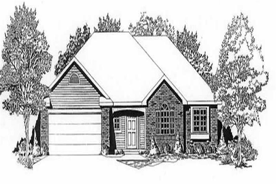 Main image for house plan # 16591