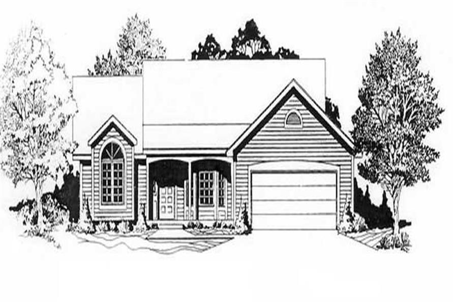 Main image for house plan # 16588