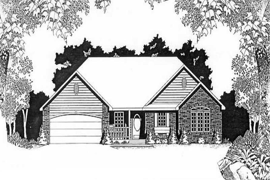 Main image for house plan # 16578
