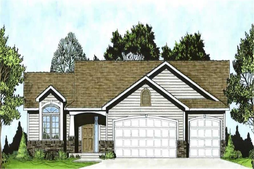 Main image for house plan # 16581