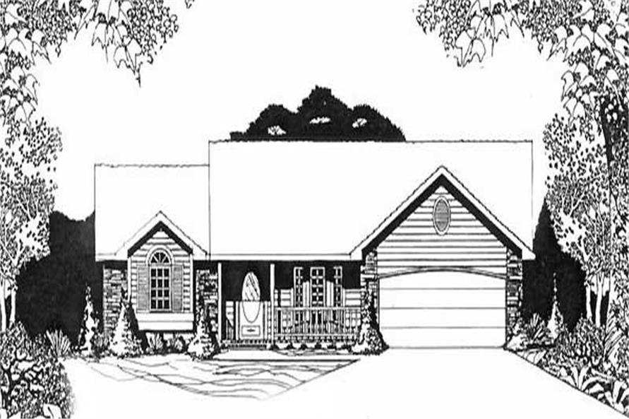 Main image for house plan # 16612
