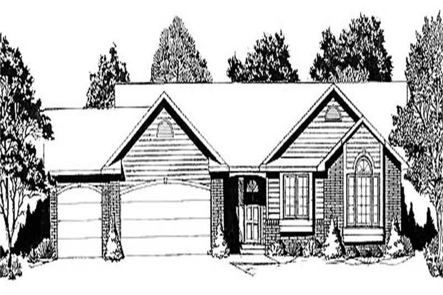 Main image for house plan # 16585