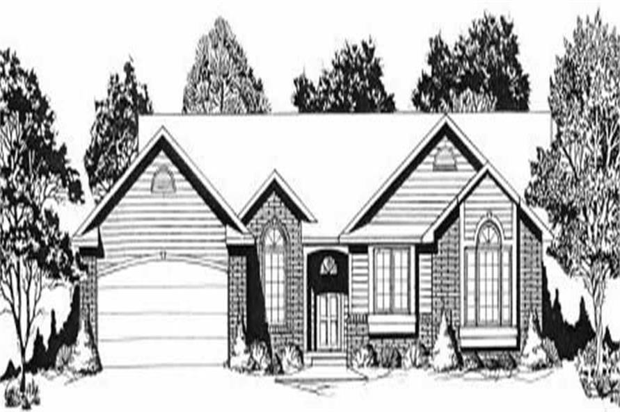 Main image for house plan # 16546