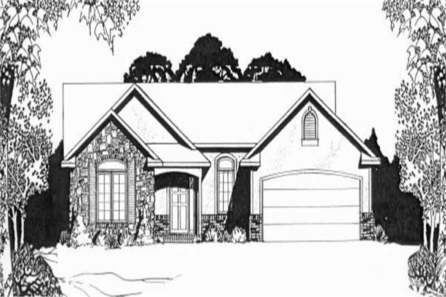 Main image for house plan # 16579