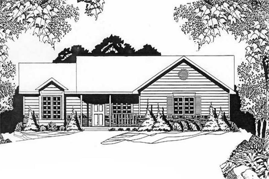 Main image for house plan # 16574