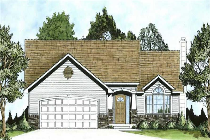 Main image for house plan # 16590