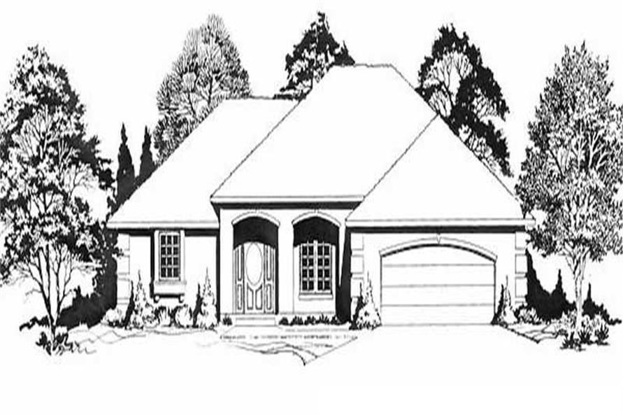 Main image for house plan # 16620