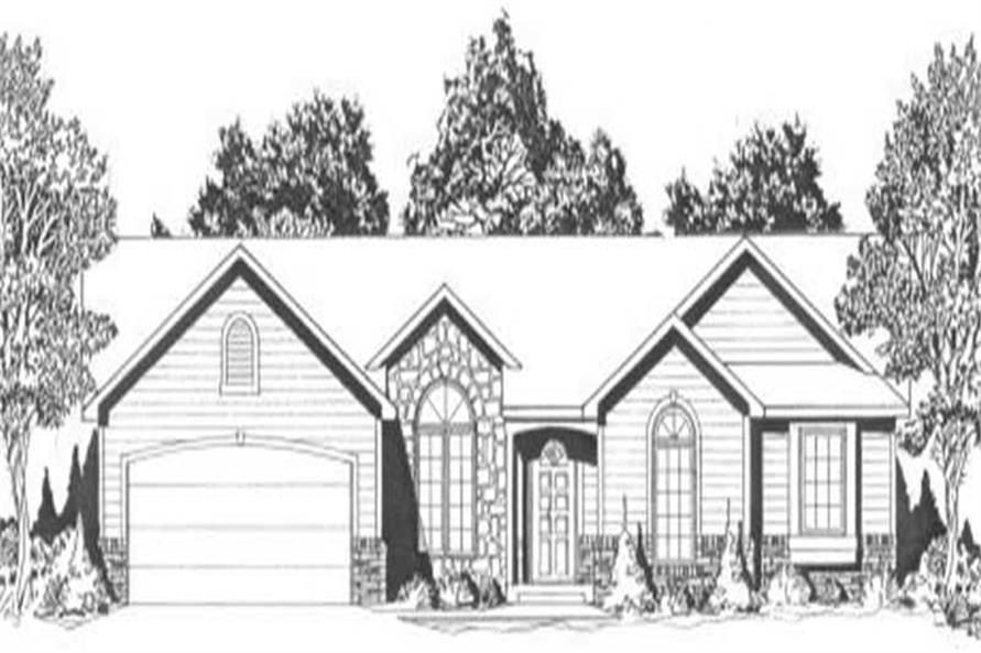 Main image for house plan # 16589