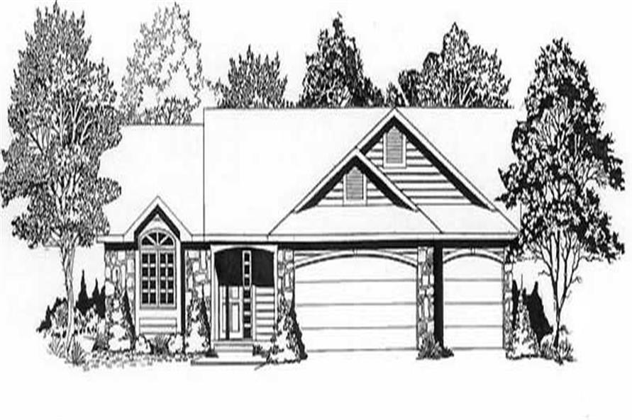 Main image for house plan # 16595