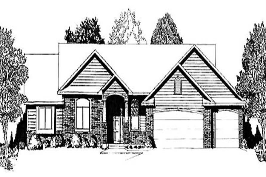 Main image for house plan # 16615