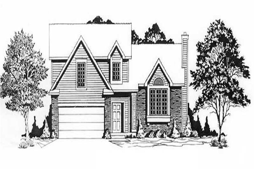 Main image for house plan # 16524