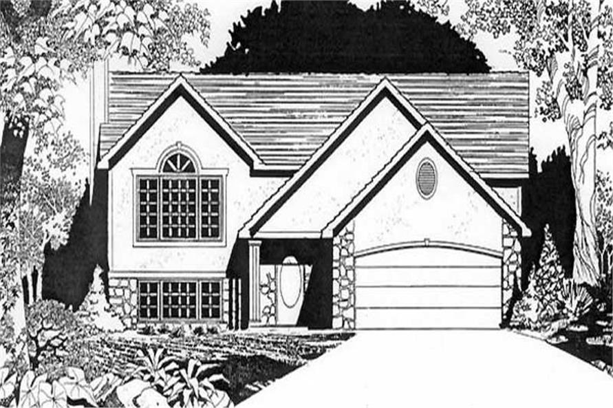 Main image for house plan # 16526