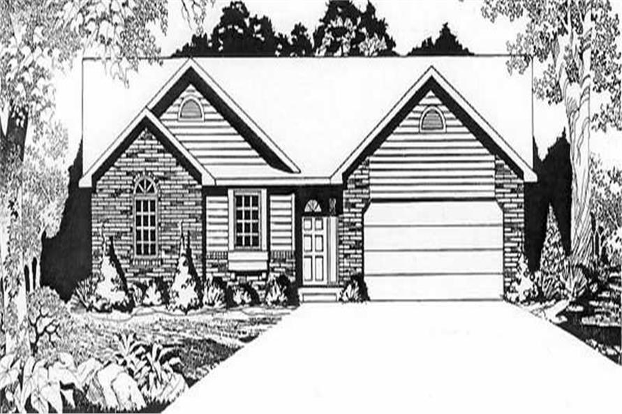 Main image for house plan # 16530