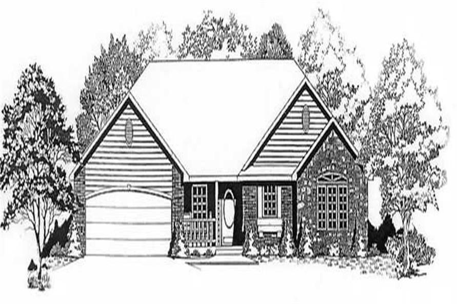 Main image for house plan # 16583