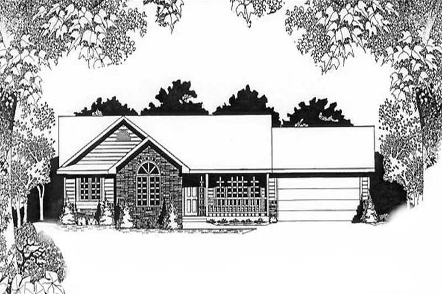 Main image for house plan # 16529