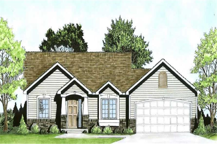 Main image for house plan # 16491