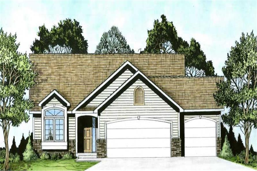 Main image for house plan # 16507